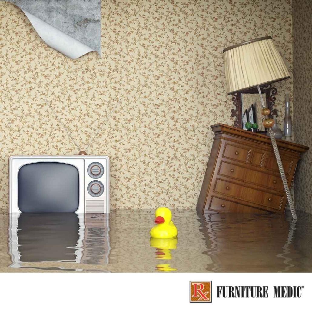 Save flood-damaged furniture